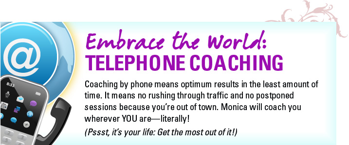 Embrace the World Telephone Coaching with Monica Magnetti