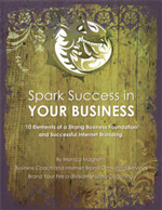 Spark Success in Your Business | 10 Elements of a Strong Business Foundation and Successful Internet Branding | Monica Magnetti